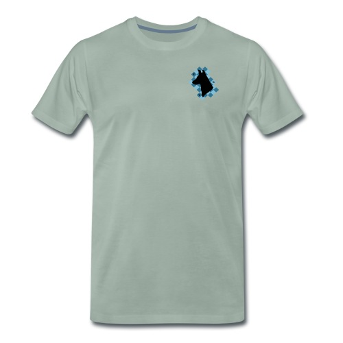 SquareDog - Miesten premium t-paita