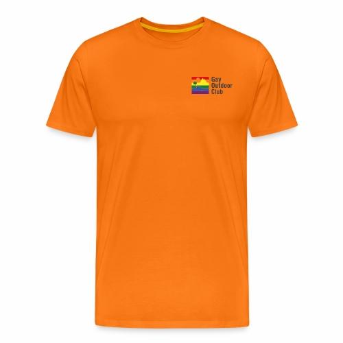 GOC Logo Black Text - Men's Premium T-Shirt