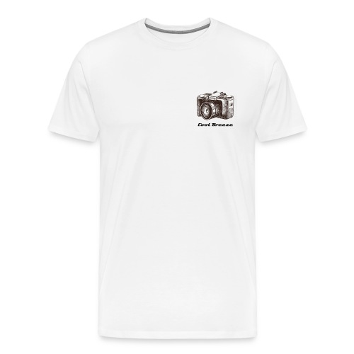 Cool Breeze logo - Men's Premium T-Shirt