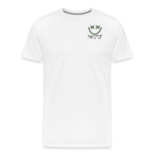 Positif Brand Basic - Camiseta premium hombre