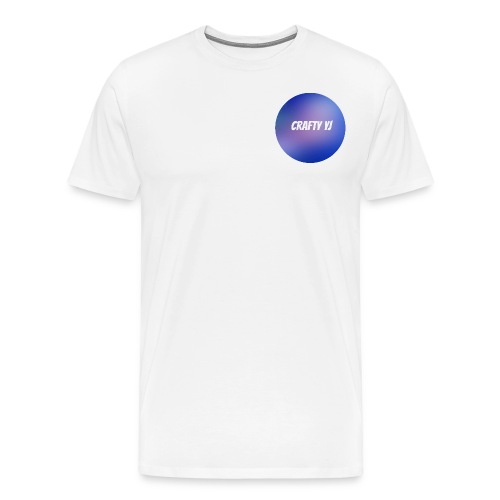 Crafty Logo - Mannen Premium T-shirt