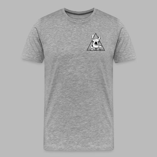 LamaTekeningMetTekst - Men's Premium T-Shirt