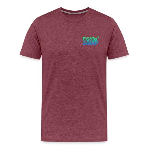F*ckin' Squid Text - Men's Premium T-Shirt