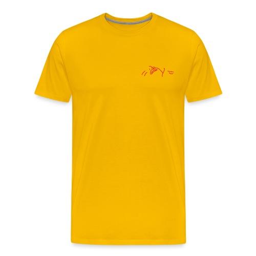 The stars above are watching (pocket) - Men's Premium T-Shirt