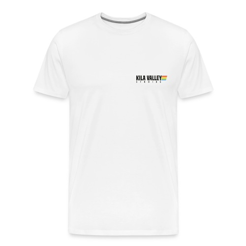 kila_retro_black - Premium-T-shirt herr