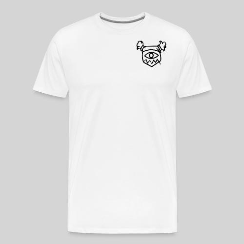 Tozfu Black Logo - Men's Premium T-Shirt