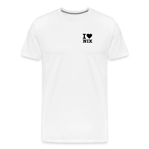 I LOVE NIX - Männer Premium T-Shirt