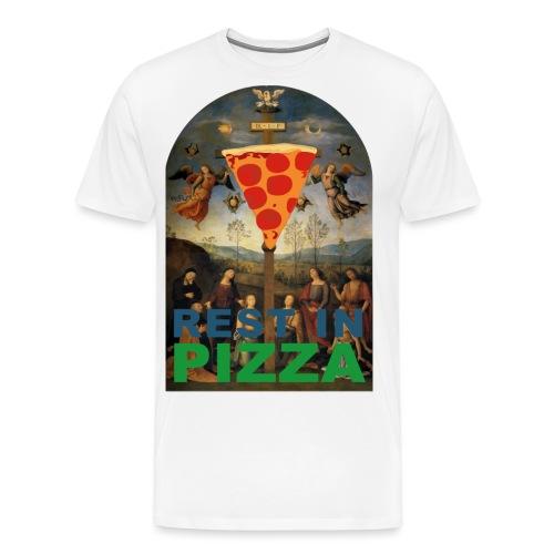 Rest In Pizza - T-shirt Premium Homme