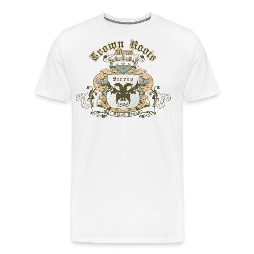 Crown Roots - Männer Premium T-Shirt