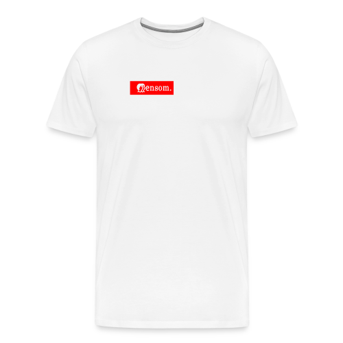 Ensom - Premium T-skjorte for menn