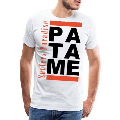 Patame Surfers Paradise Black - Männer Premium T-Shirt