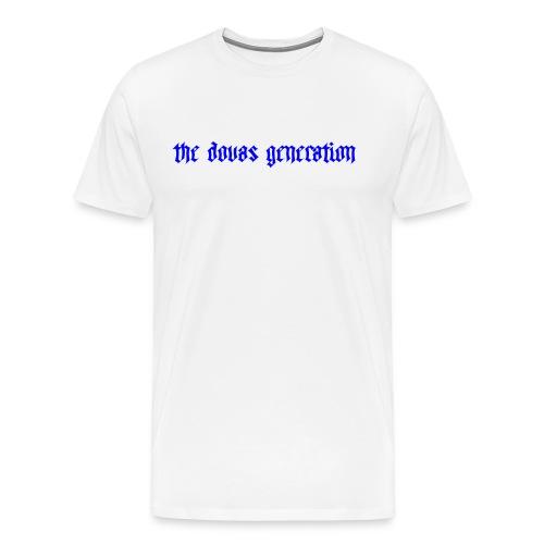 the dovas generation - Premium-T-shirt herr
