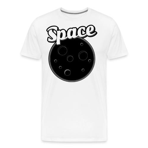 Mond Keks Galaxis Astronaut Geschenk - Männer Premium T-Shirt