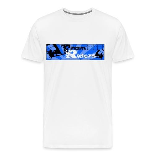 Logo Officiel Tram-riders.com Homme - T-shirt Premium Homme