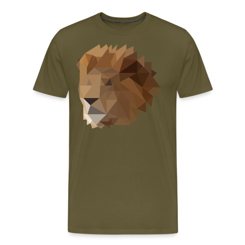 Löwe - Männer Premium T-Shirt