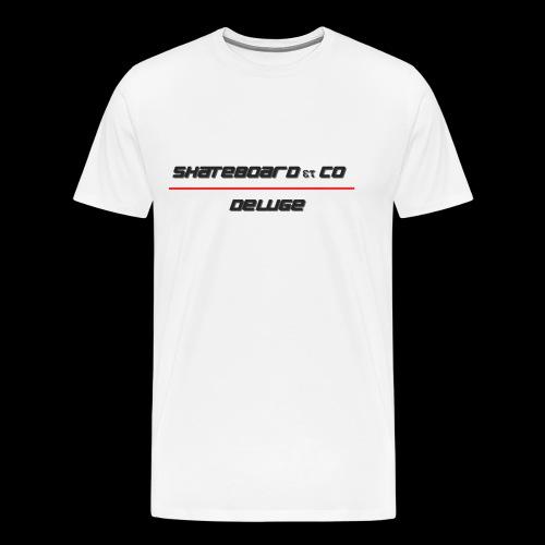 DELUGE - SKATEBOARD - T-shirt Premium Homme