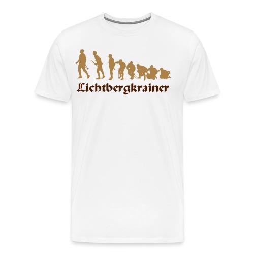 Krainolution-Schwarz - Männer Premium T-Shirt