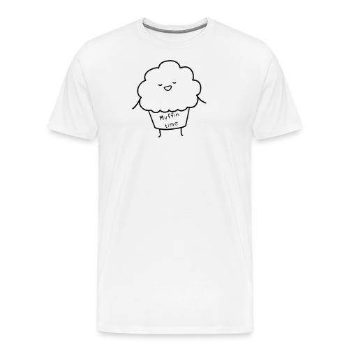 Muffin tid - Herre premium T-shirt