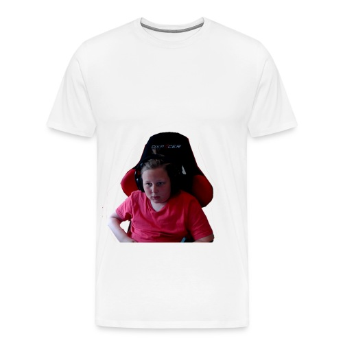 rage - Premium-T-shirt herr