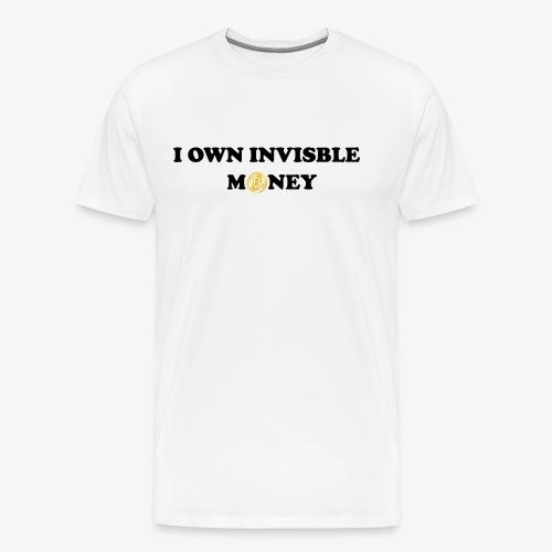 Invisible Money - Men's Premium T-Shirt