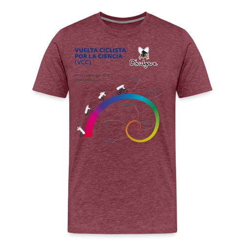 Vuelta Ciclista por la Ciencia - Camiseta premium hombre