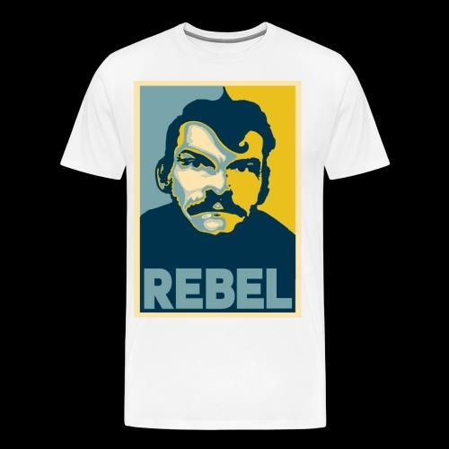 Rebel - Premium-T-shirt herr