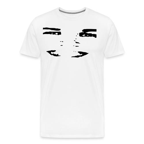 TMEEMUSTA - Miesten premium t-paita