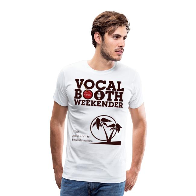 VB VIRGIN TEE - MAROON
