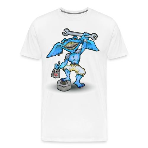 Gremlin1 jpg - Männer Premium T-Shirt