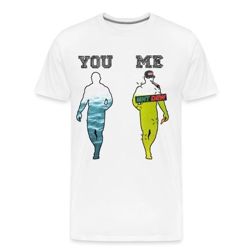 70% MLG - Premium T-skjorte for menn