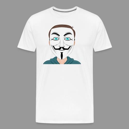 Anonymous Me Cartoon - Men's Premium T-Shirt