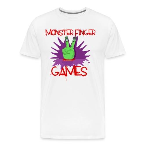 Monster Finger Games Logo - Men's Premium T-Shirt