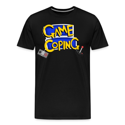 Game Coping Logo - Men's Premium T-Shirt