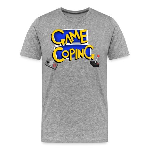 Game Coping Logo - Men's Premium T-Shirt