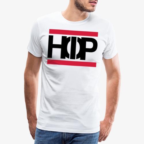 Old School Hip Hop Text Schrift Geschenk - Männer Premium T-Shirt