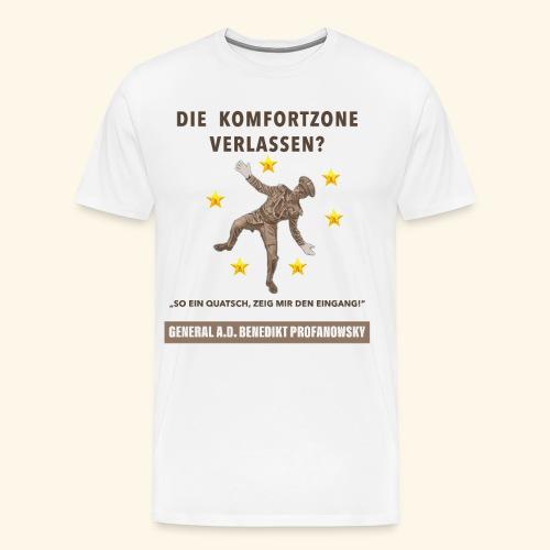 Die Komfortzone - Männer Premium T-Shirt