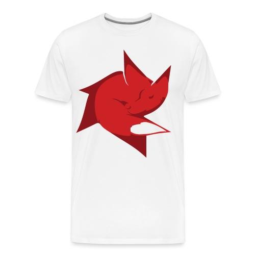 Skecon_logo - Premium-T-shirt herr