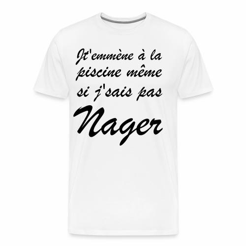 Nager | Punchline - Placements de Produits - T-shirt Premium Homme