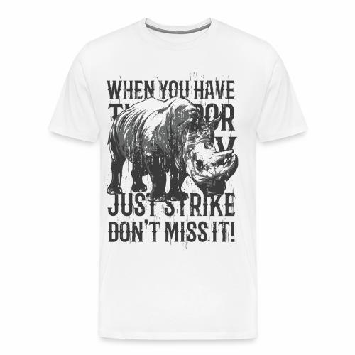 Rhino - Männer Premium T-Shirt