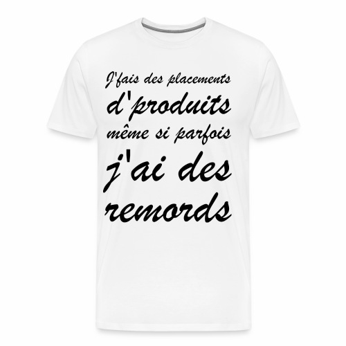 Remords | Punchline - Placements de Produits - T-shirt Premium Homme