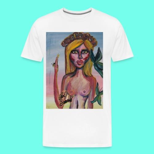 Dark Heaven - Premium-T-shirt herr