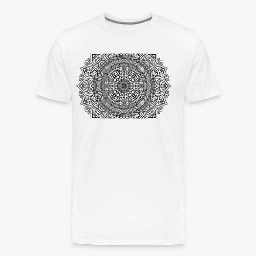 mandala3 - Men's Premium T-Shirt