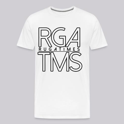 T-Shirt im RGA TMS Design - RugaTimes - Männer Premium T-Shirt