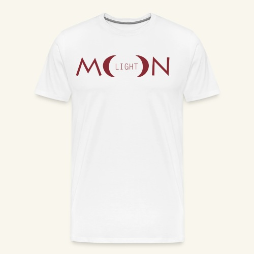 MoonLight bourdeaux - Maglietta Premium da uomo