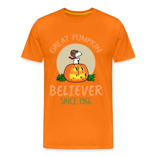 Great pumpkin believer since 1966 - Men's Premium T-Shirt