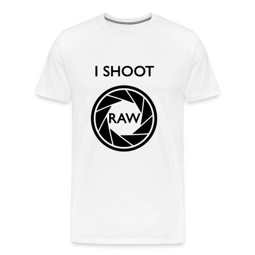 I SHOOT RAW Clothing - Männer Premium T-Shirt