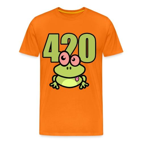 420 Frosch - Männer Premium T-Shirt