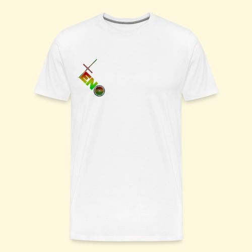 Scooter Logo - Rasta - Men's Premium T-Shirt