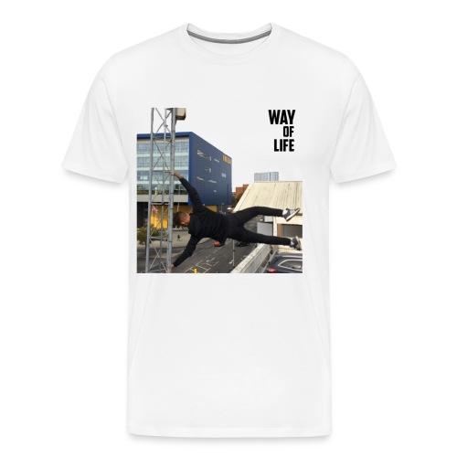 Way of life - Men's Premium T-Shirt