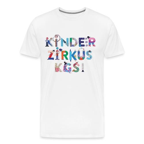 Kinderzirkus KGS - Männer Premium T-Shirt